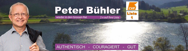 Peter Bühler – Unser Kantonsrat